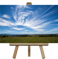 An example of the easel option
